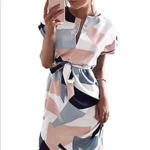 Dresses & Skirts - NWOT Beautiful white dress. Never worn! Size Sm